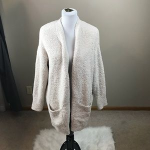Barefoot Dreams Very Soft Open Cardigan